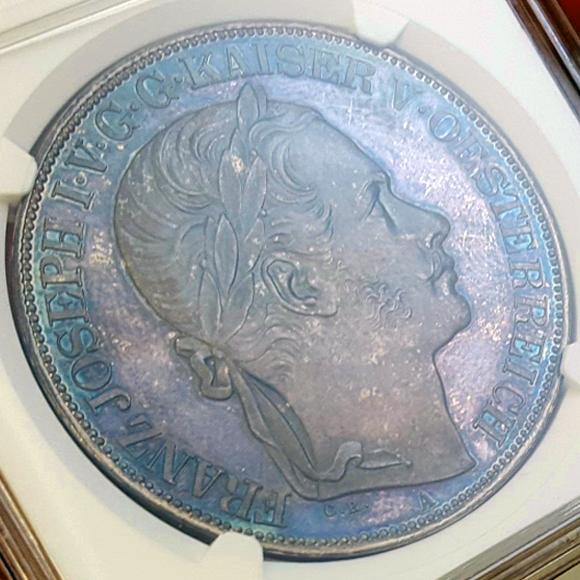 1857 2thaler