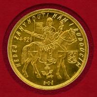 チェコスロバキア10ダカット金貨