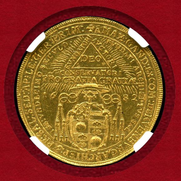 1682年4ダカット金貨