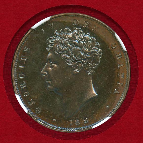 1826年パターン貨