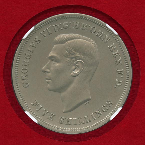 1951年クラウン銀貨