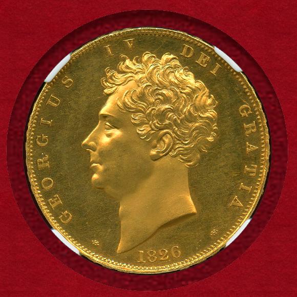 1826年 イギリス ジョージ4世 5...